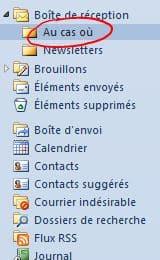 Creation-dossier-Au-Cas-Ou-dans-la-boite-de-reception-Outlook 1